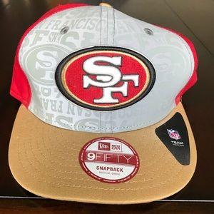 San Francisco 49ers New Era SnapBack Ballcap